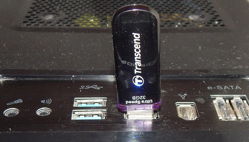 Флешка USB TRANSCEND Jetflash 600 32Гб