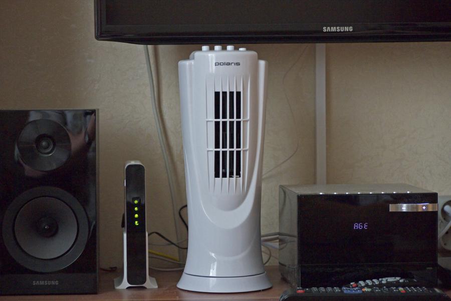 Вентилятор в интерьере