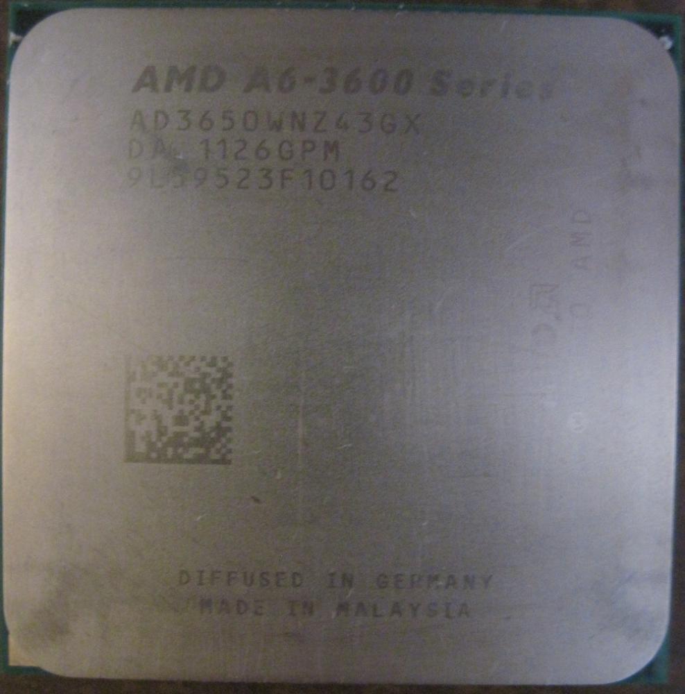 AMD A6 3650