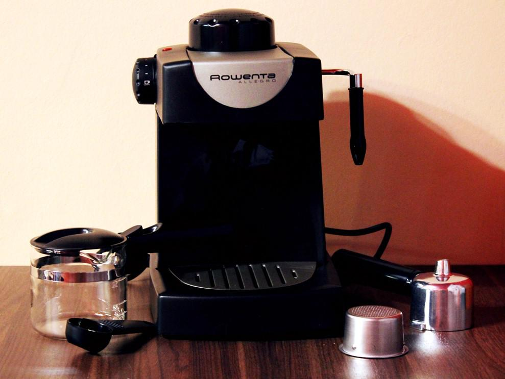 Кофеварка со всеми принадлежностями