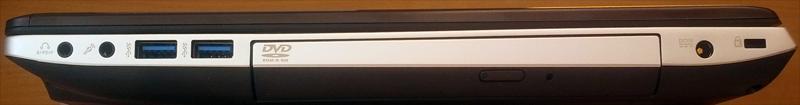 ASUS N56DY - правая боковая панель