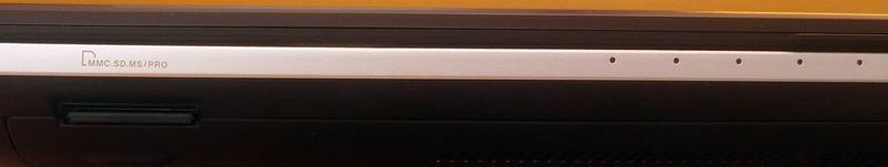 ASUS N56DY - передняя панель