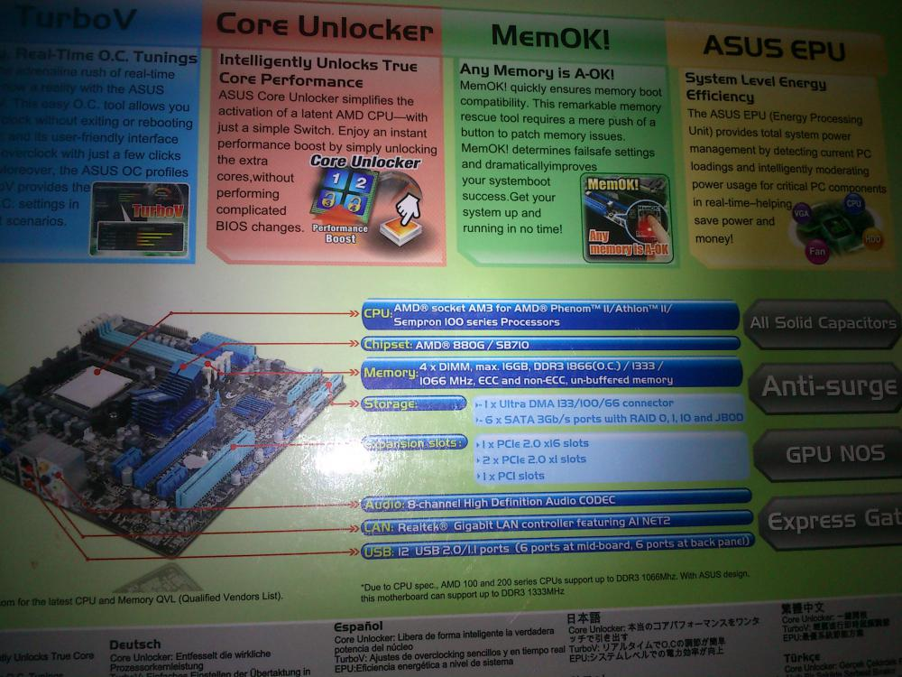 ASUS M4A88T-M BIOS firmware chip
