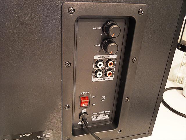 SVEN MS-1080 – Боковая панель
