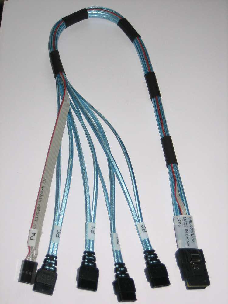кабель sas-sata