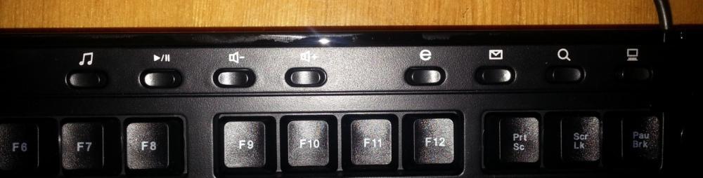 Клавишы быстрого доступа