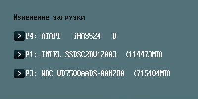 SSD в BIOS