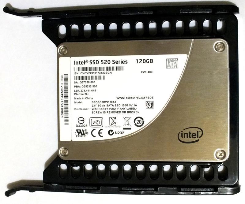 """SSD в корзине/переходнике с 3,5"""" на 2,5"""""""