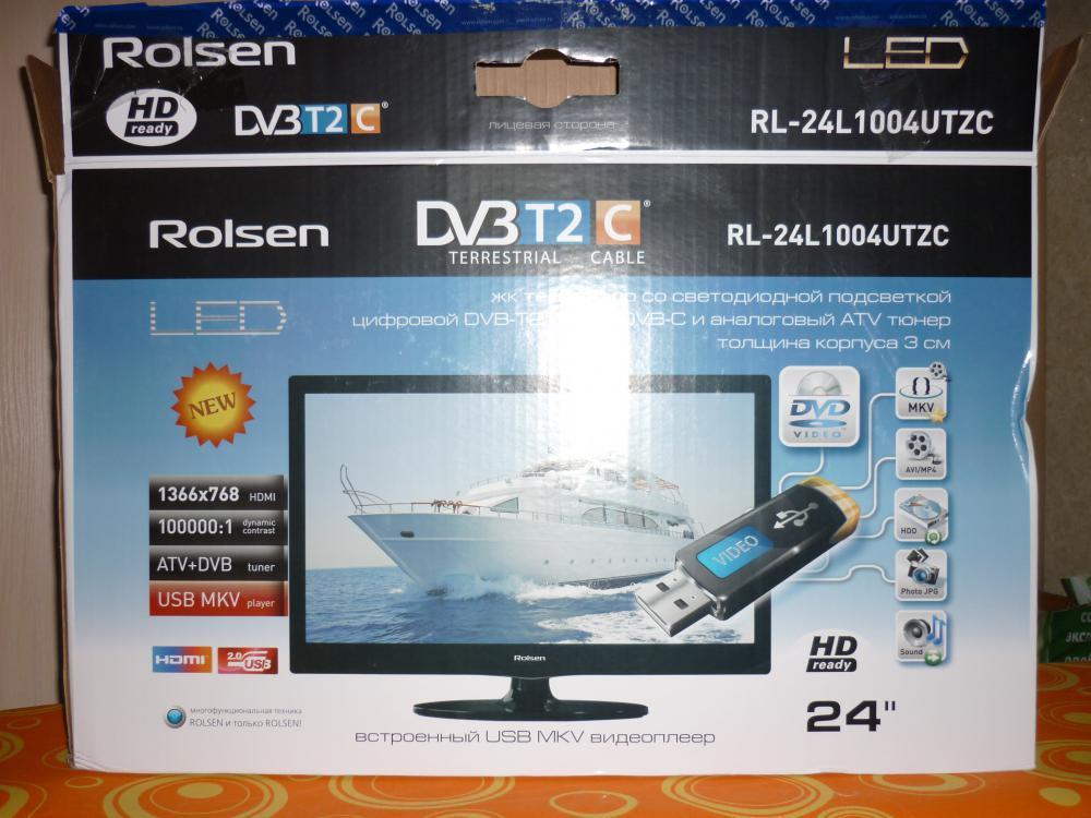 Выбирал между ROLSEN и SUPRA ,выпал на телевизор  на ROLSEN