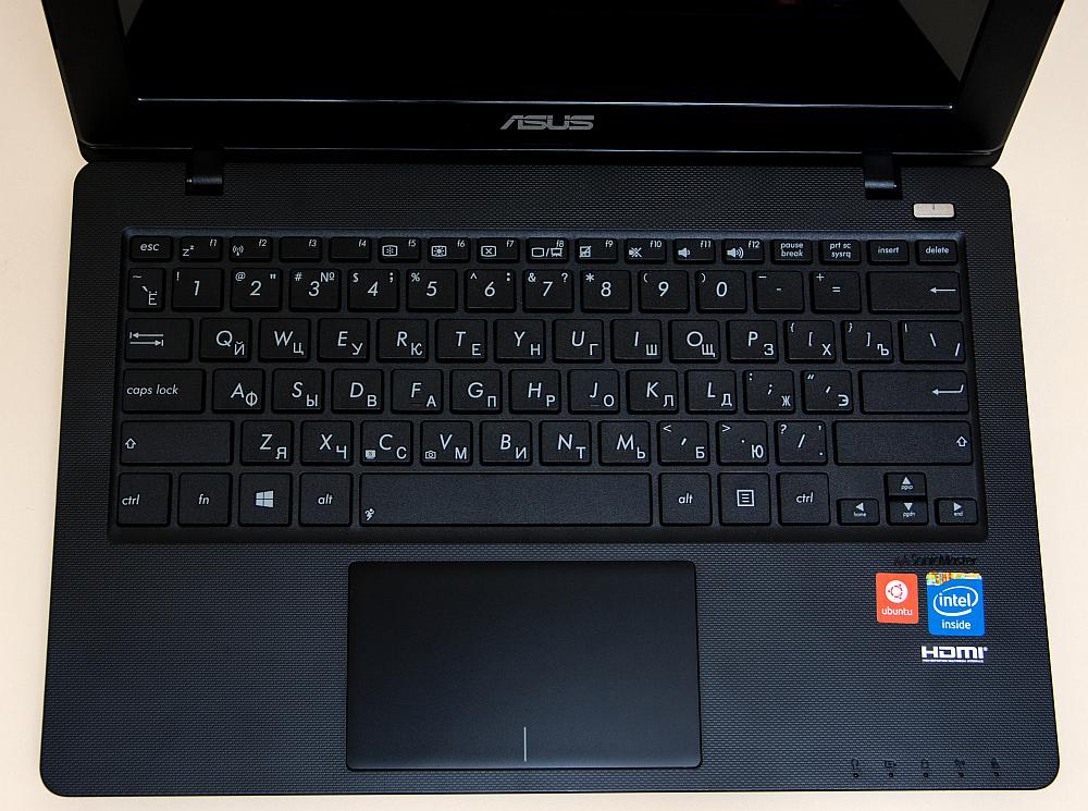 ASUS X200CA - keyboard