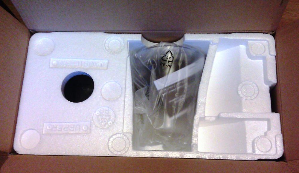 Фото 3. Распаковываем коробку