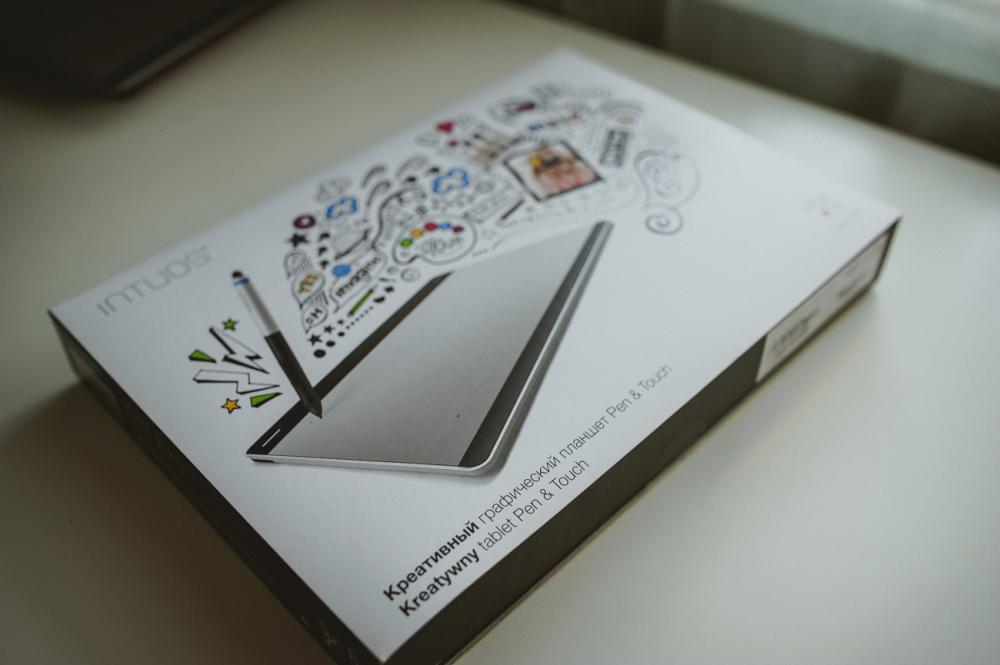 Планшет WACOM Intuos Pen&Touch_упаковка