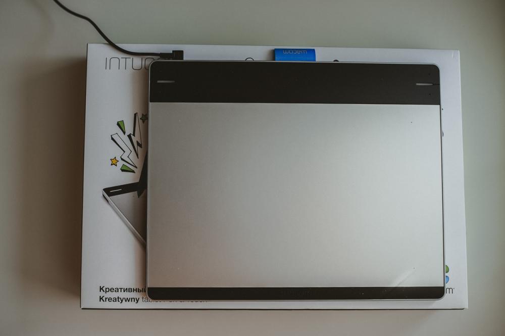 Планшет WACOM Intuos Pen&Touch_размер коробки