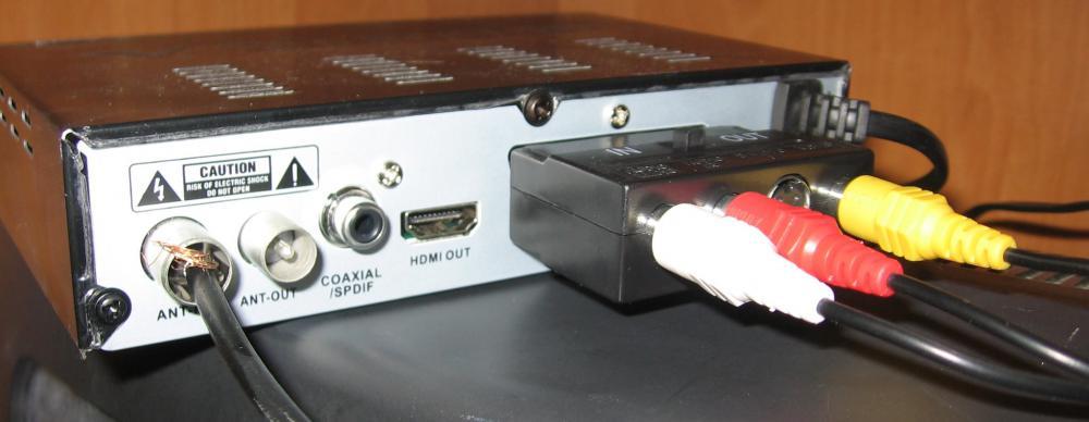 Ресивер подключен