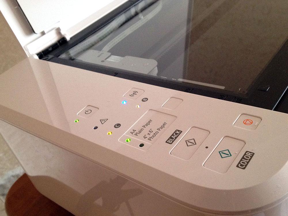 Панель управления принтером