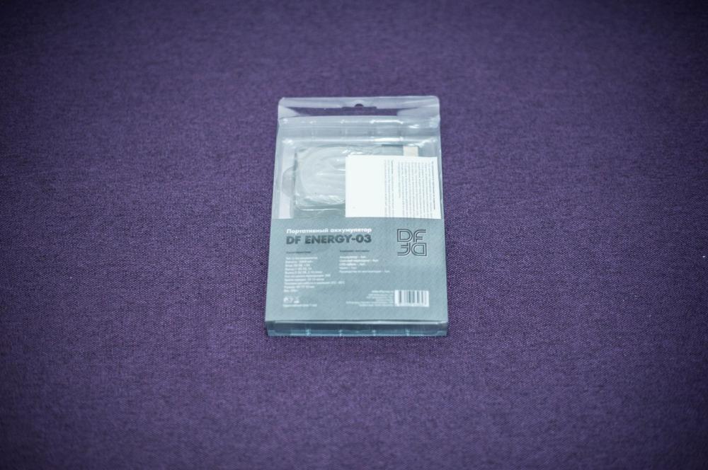 Упаковка DF Energy-03: вид сзади