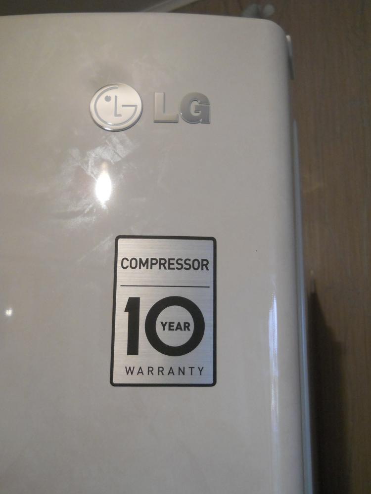 Гарантия на компрессор 10 лет.
