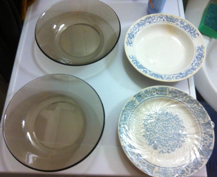 Чистая посуда.