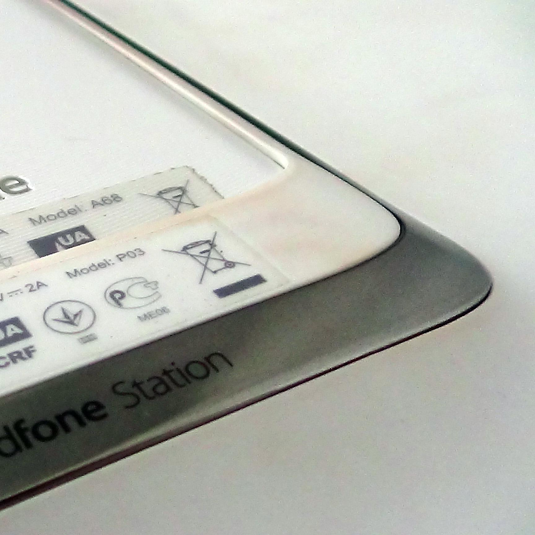 При использовании станции, хорошо видна разница поверхности устройств.