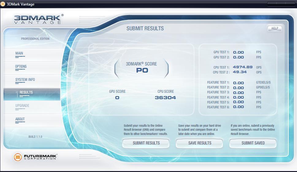 3DMark Vantage CPU Test