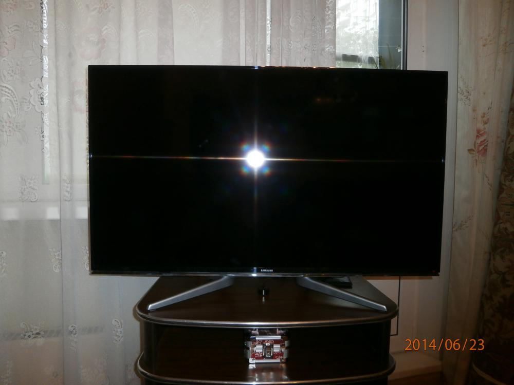 Внешний вид установленного телевизора