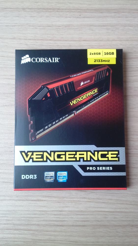 оперативная память CORSAIR Vengeance Pro CMY16GX3M2A2133C11R