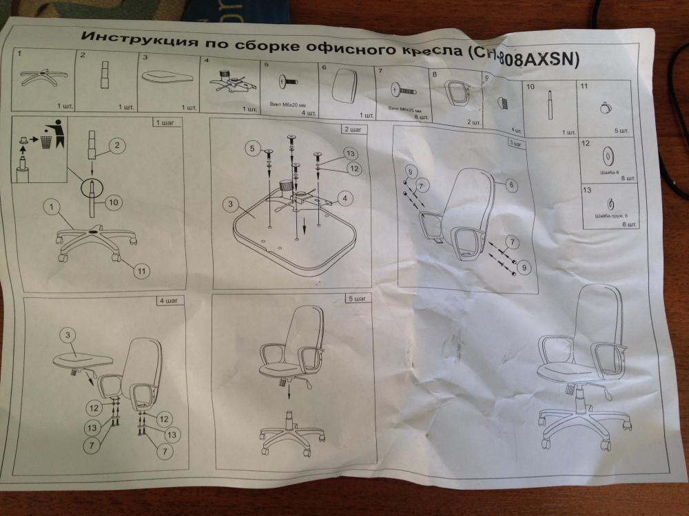 инструкция понятная ребенку