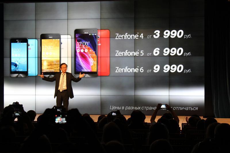 Глава Asus Джонни Шин о цене Zenfone