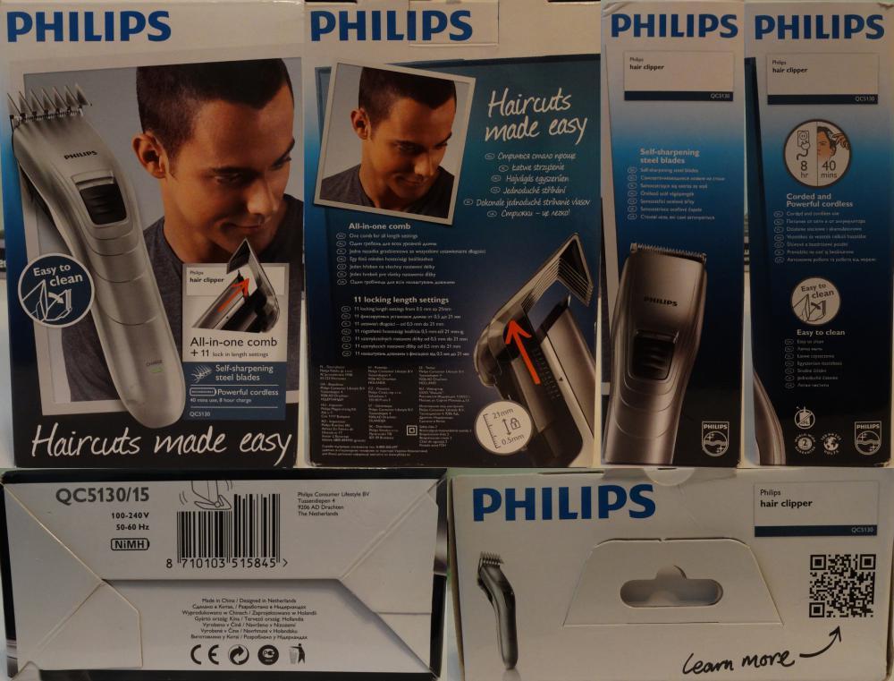 PHILIPS QC5130 - личный парикмахер - Обзор товара Машинка для стрижки PHILIPS QC5130 серебристый (564760) от nmetelkov92 в интернет-магазине СИТИЛИНК – Ростов-на-Дону