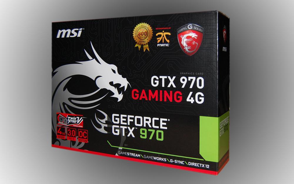 Внешний вид коробки GTX970