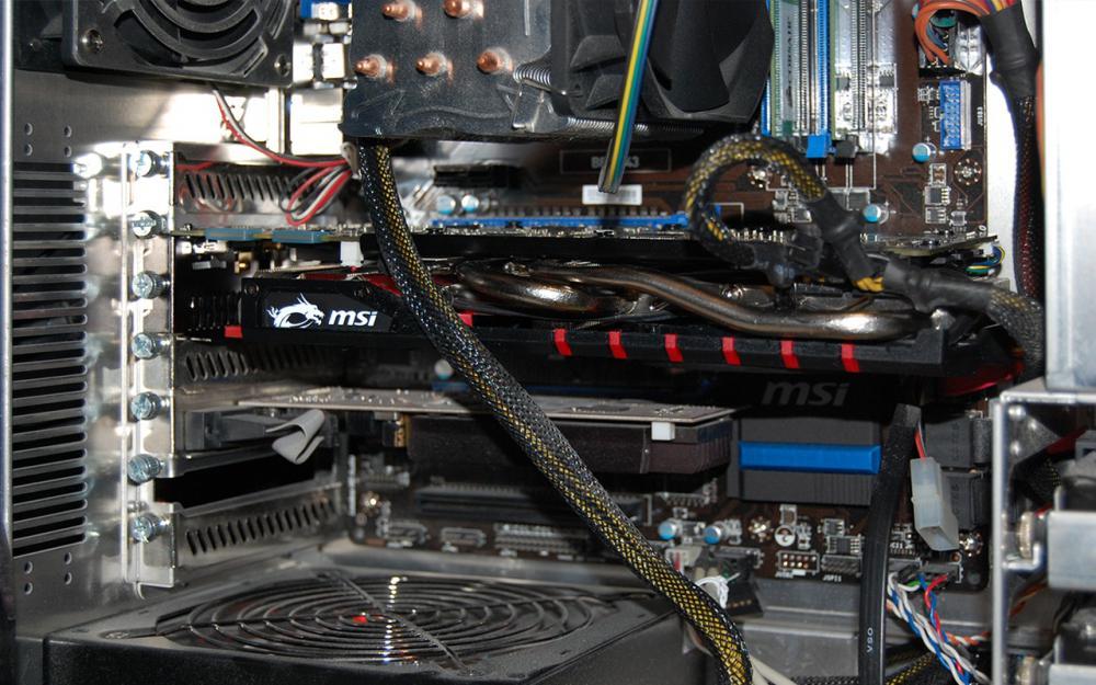 GTX 970 в корпусе
