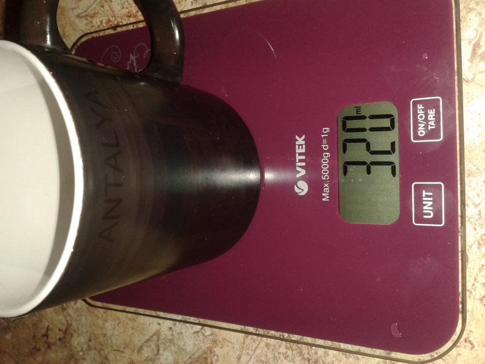 4 Измеряю вес ( дальше увидите за чем )
