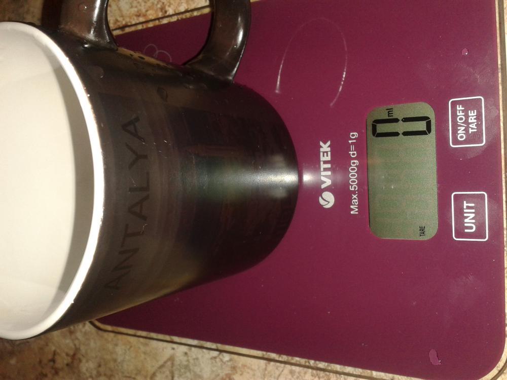 5 Обнуленный вес