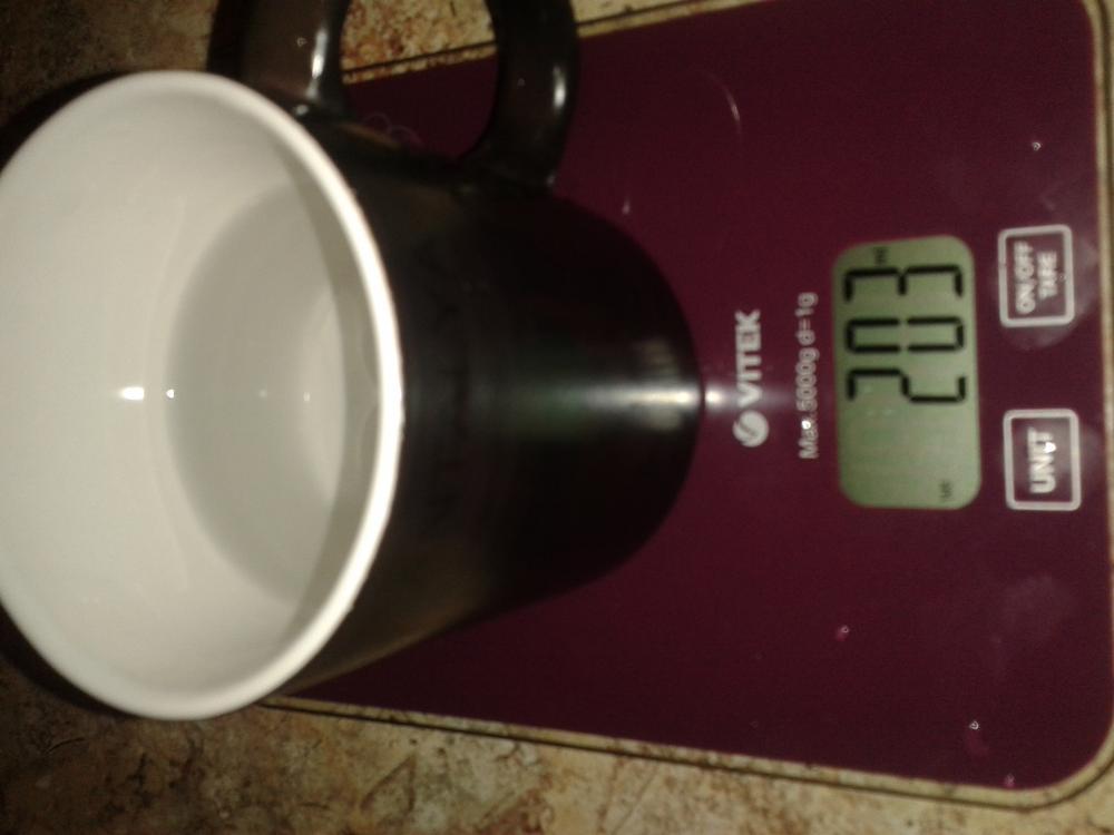 6 Измеряем миллилитры, я заливала 200 мл., получилось чуть больше, но я допускую погрешность