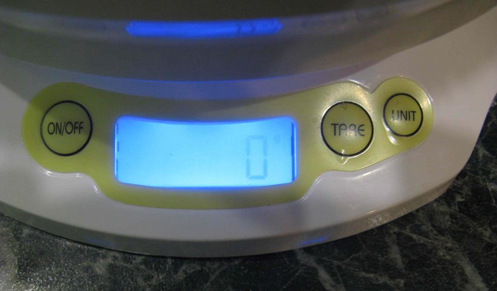Электронное табло весов