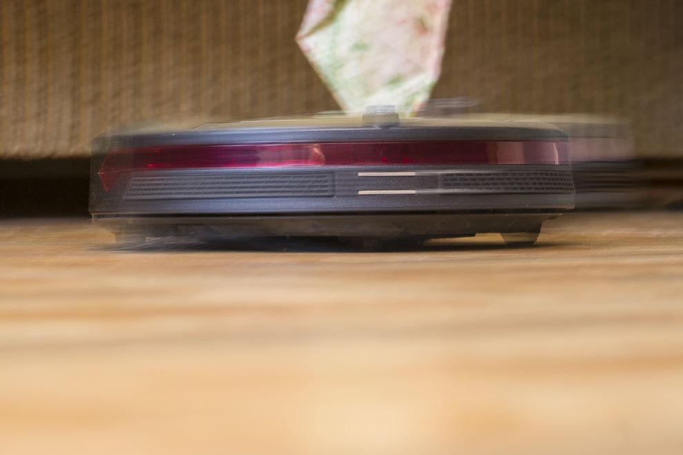 Скорость робота - потрясает!