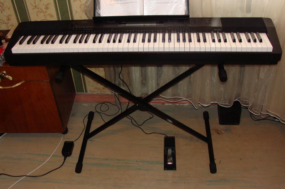 Фортепиано и новая педаль SP-20