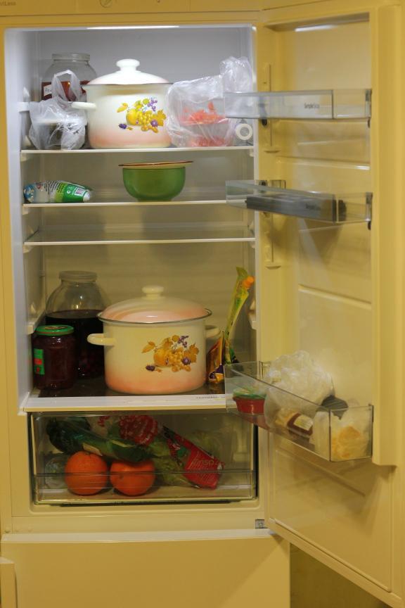Общее отделение холодильника