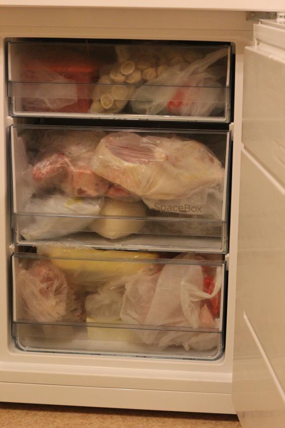 Морозильное отделение холодильника