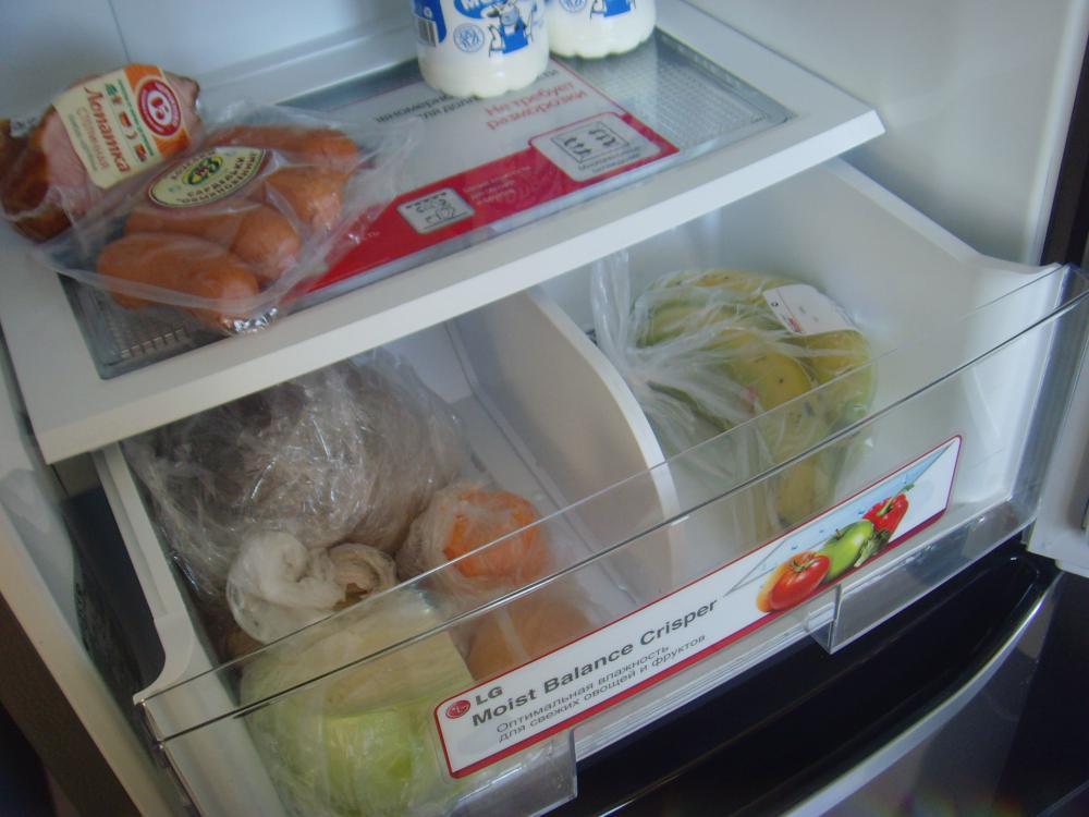 Ящик для овощей и фруктов