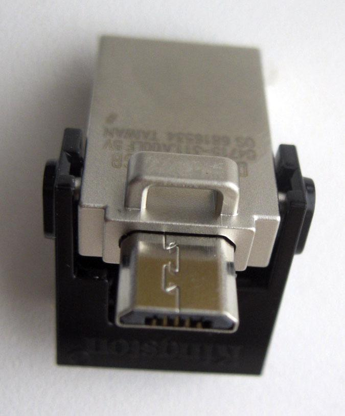USB 3 KINGSTON DataTraveler microDuo 16Гб