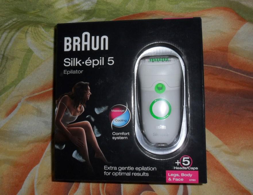 Упаковка с эпилятором Braun Silk-Epil 5780