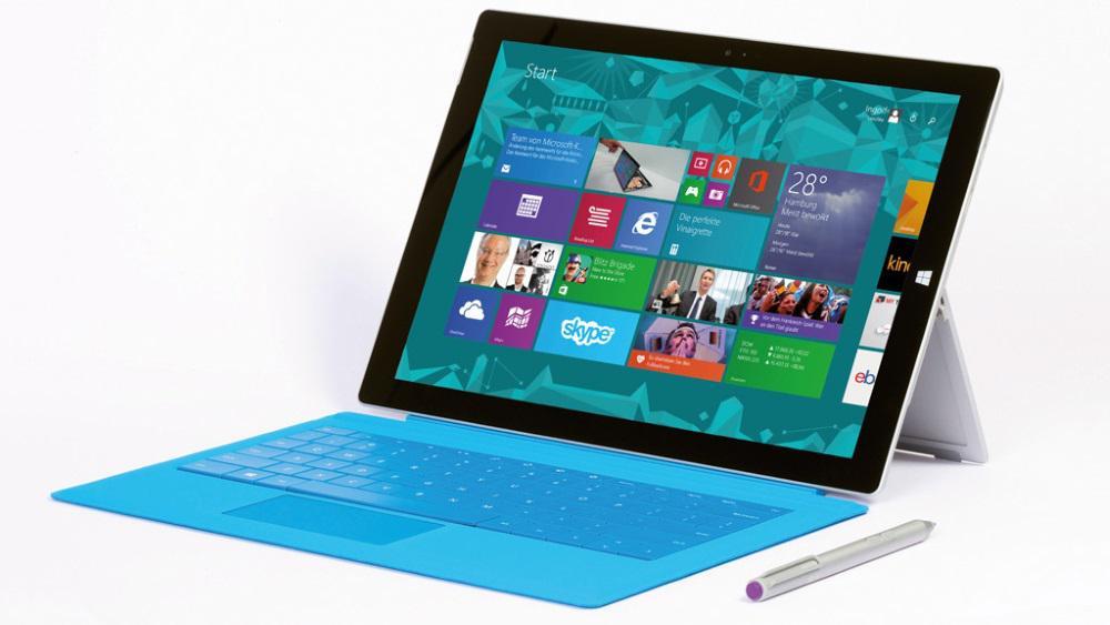 Пресс фото Microsoft Surface Pro 3