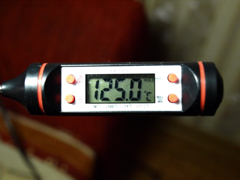 PCSH 0520 Температура макс