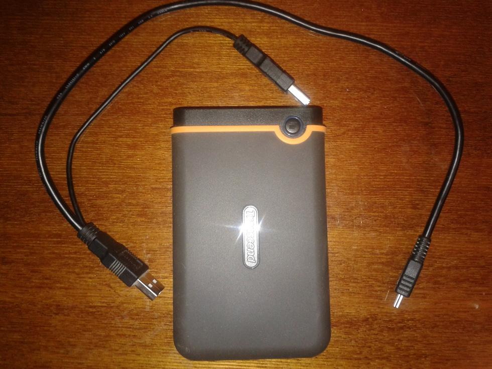 Внешний жёсткий диск Transcend StoreJet 25m2 (USB2.0), 1TB