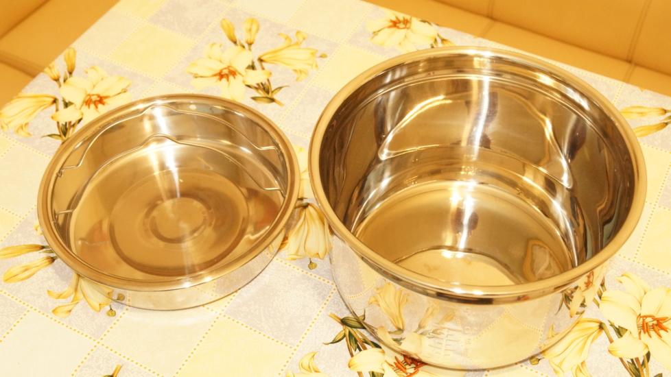 чаша фирмы АРК (с миской для приготовления на пару)
