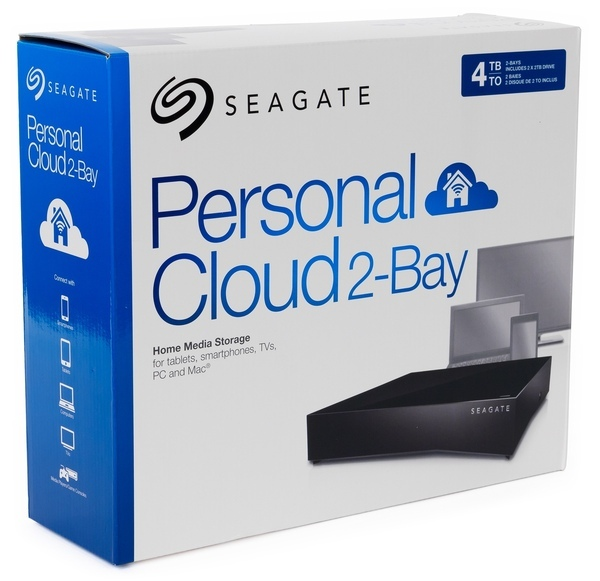 Упаковка Seagate Personal Cloud