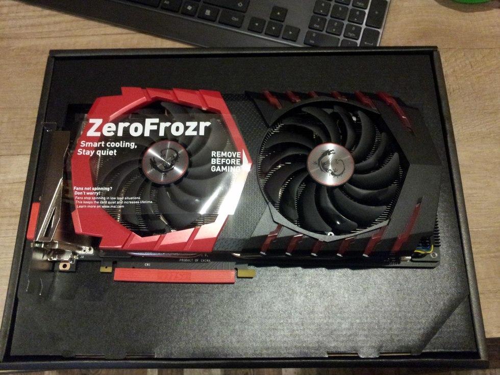 Видеокарта MSI nVidia GeForce GTX 1070 , GeForce GTX 1070 GAMING X 8G