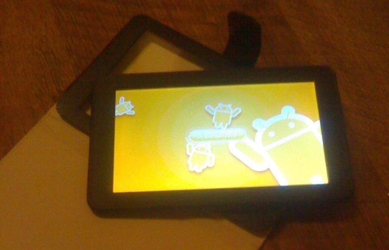 Digma iDj7. Загрузочный экран.