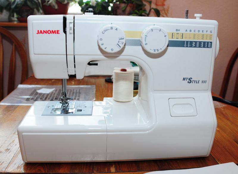 швейная машинка Janome my style 100